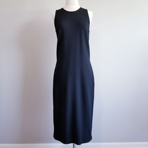 VERSACE JEAN COUTURE SLEEVELESS BLACK MAXI DRES